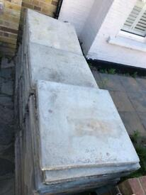SOLD Paving Stones, 67 Slabs
