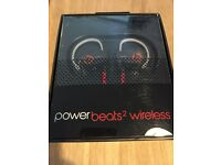 POWERBEATS 2 WIRELESS BLUETOOTH SPORT HEADPHONES BY DR DRE