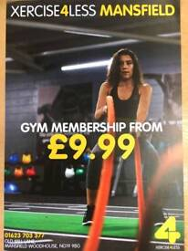 Xercise4Less Gym OPENING SOON!