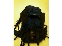 Karrimor 65litre rucksack hiking bag Near new condition