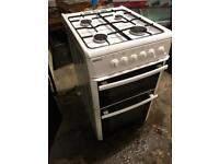 White gas cooker beko 50cm £100