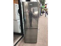 SAMSUNG Stainless Steel Very Nice Fridge Freezer (Fully Working & 3 Month Warranty)