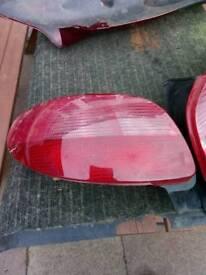 206 rear lights
