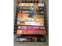 Job lot Vhs Video 29 cassette's children and Adult