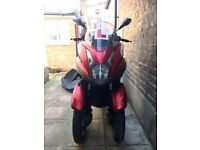 Yamaha Tricity 2015 125cc with brake disc and chain lock