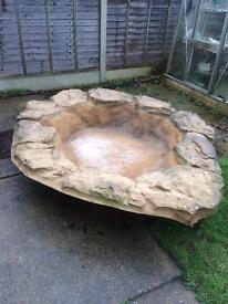 Pond large fibreglass