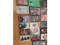 Collection of 80s and 90s cassette albums and singles - less than a quid per cassette.