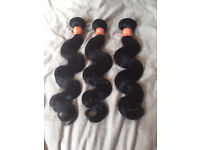 """6A & 7A Brazilian Virgin Unprocessed Remy Hair Extensions Weave 18"""" Loose Wave/Body Wave"""