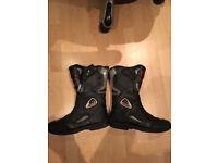 Akito Motorbike Boots Size 10
