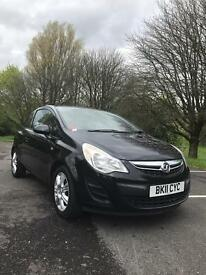 Vauxhall corsa exclusive 1.2 new shape facelift