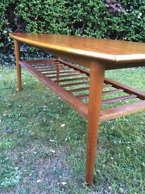 Contemporary Coffee Table Mid 20th Century Modernist Scandinavian Vintage 1960s 70s