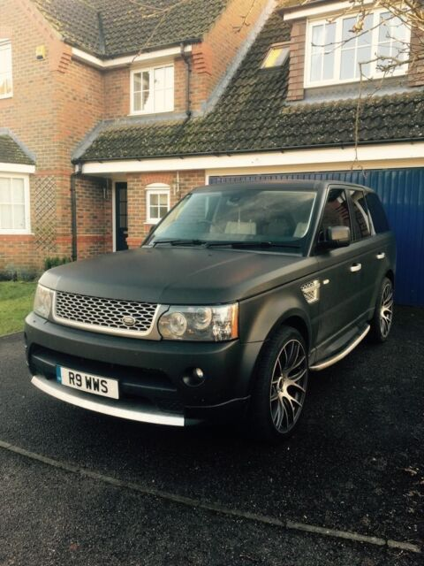 Range Rover Matte Black >> Range Rover Sport Matte Black Lady Owner In Poole Dorset
