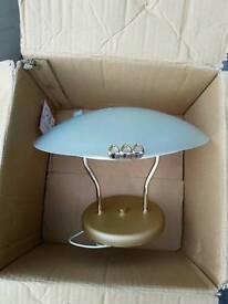 Large collection of light fittings uplighter downlight halogen bathroom living room light etc
