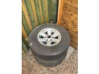 Ford ranger 15 inch alloys 6stud