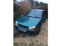 fiesta finness year 2000, low mileage, currently non runner repair/parts