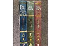 Lord of rings box sets