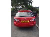 QUICK SALE! 2004 Mazda 6 Estate Red 2.0 5dr Hatchback
