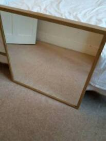 IKEA STAVE LARGE SQUARE MIRROR