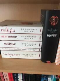 Twilight Midnight sun book