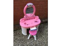 Step 2 fantasy vanity dressing table and stool