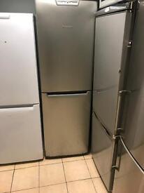 Frost free silver fridge freezer