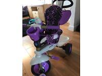 Smart trike dream in purple/black