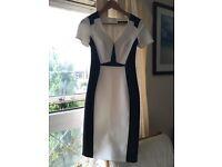 Karen Miller size 6 office fitted dress