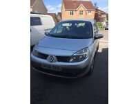 Renault Grand Scenic 06 plate in Silver (7 seater) - needs work
