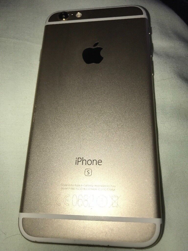 IPhone 6s gold 16gb EE network