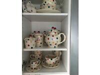 Emma Bridgewater Polka Dot 25 item Crockery set
