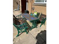 Garden furniture SOLD PENDING COLLECTION