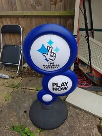 National lottery stand