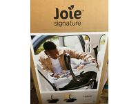 Joie signature baby car seat