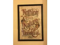 Fantastic Beasts - Nothing Unnatural In Nature Framed Maxi Poster - Very Steampunk