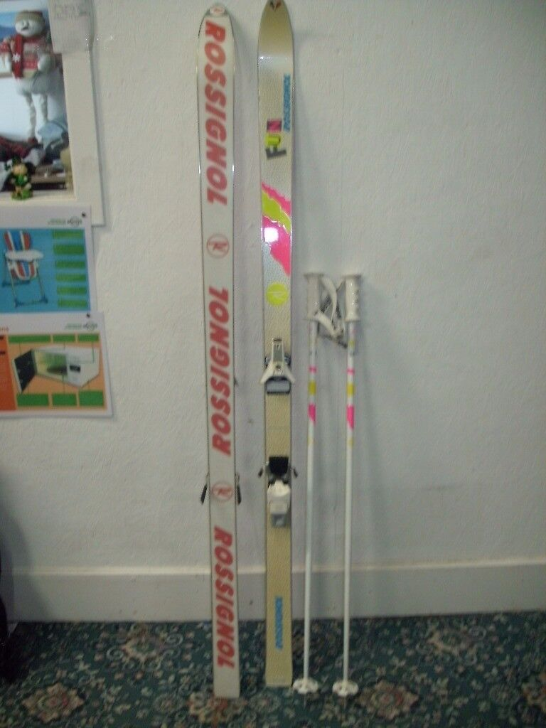 Rossignol Ski's and Poles ID 7/9/17