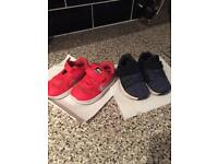 Boys Size 5 Nike and Next Trainers