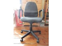 Fabric Office Chair in full working order, good condition