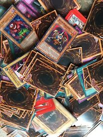 Large collection of YU-GI-OH Cards