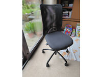 IKEA black home office/student swivel chair