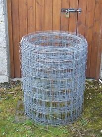 Galvanised Wire Fencing