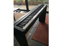 Yamaha P35 Digital Piano with Yamaha L85 Stand and Tiger Piano Stool