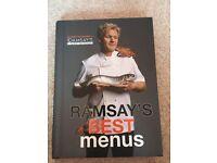 Gordon Ramsay best menus cook book