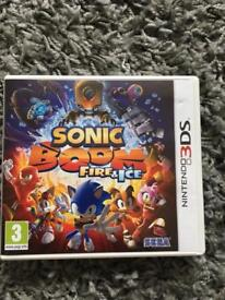 SONIC BOOM FIRE AND ICE 3DS
