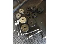 Huge pile of weights