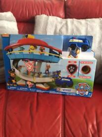 BRAND NEW PAW PATROL LOOKOUT PLAYSET