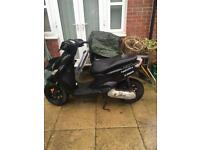 Yamaha Neos 50 Black Moped