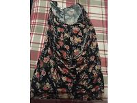 Flowered Size 10 Top