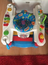 Fisher Price step and play piano/walker