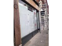 LARGE SHOP TO RENT ON RYE LANE CALL NOW