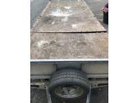 2 axle ifor williams trailer